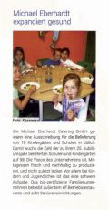 """Catering Eberhardt expandiert gesund"" - Catering Management 01-02-2016"